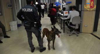 Aeroporto di Comiso. La Polizia ha intensificato i controlli presso lo scalo aeroportuale