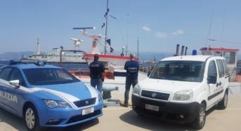 Tenta di rubare una motonave ancorata alla banchina Colapesce. Arresto congiunto di Polizia di Stato e Capitaneria di Porto