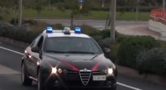 Olbia. I carabinieri lo arrestano per le gravi lesioni procurate alla fidanzata