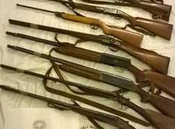 Catania. Denunciati 4 fratelli per mancata denuncia di armi e munizioni