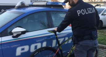 Carpi. Pregiudicato riconosciuto e denunciato dalla Polizia di Stato per furto di bici