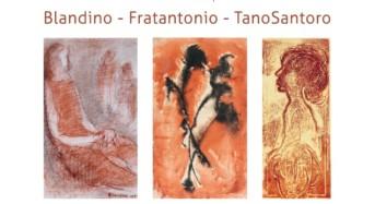 """""""Le carte dipinte. Pastelli-Acrilici-Acqueforti"""": in mostra con Giovanni Blandino, Salvatore Fratantonio e Tano Santoro"""