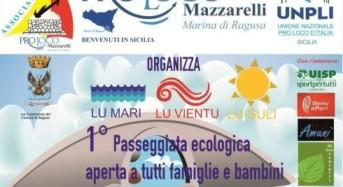 Marina di Ragusa, la ProLoco Mazzarelli organizza la 1^Passeggiata storico – ecologica