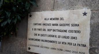 Il Capitano Vincenzo Serra e i luoghi della memoria (GUARDA IL VIDEO)
