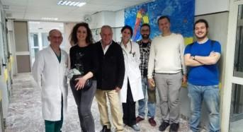 Tra le corsie dell'ospedale San Vincenzo di Taormina: via al nuovo progetto di Antonio Presti