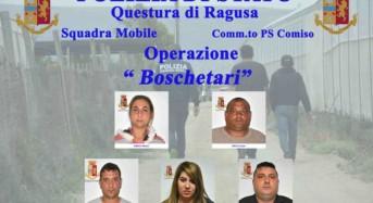 """Ragusa. Operazione """"Boschetari"""": Rumeni arrestati per traffico di esseri umani"""