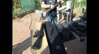 """""""Operazione Lethal Weapon"""": Scoperto traffico illecito di armi acquistate per corrispondenza dalla Polonia"""