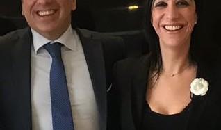 Salvo Pogliese Sindaco di Catania, le congratulazioni di Valentina Spadaro