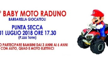 Punta Secca ospita il 1° Baby Moto Raduno. Iscrizioni entro il 20 giugno.
