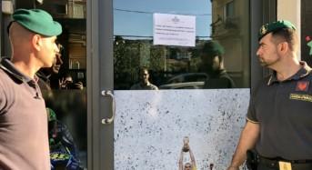 Catania, la Guardia di Finanza sottopone a sequestro sala scommesse abusiva
