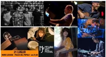 """""""Messapia Jazz Festival"""", il jazz incontra l'altra musica il 21 luglio a Muro Leccese (Lecce)"""