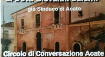 """Acate. Quinta Edizione del """"Premio Gabriele Carrubba"""", al dottor Giovanni Salemi."""