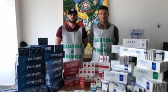 Palermo, GDF sequestra circa 45 KG di tabacchi lavorati esteri