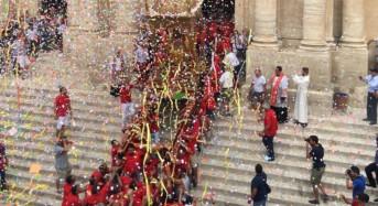 Giarratana, giovedì la discesa del simulacro di San Bartolomeo dalla cappella dell'altare maggiore