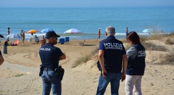La Polizia di Stato arresta 5 spacciatori che operavano nelle spiagge di Punta Braccetto, Punta Secca e Scoglitti