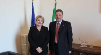 Incontro tra il presidente Calderone e il capo dell'ispettorato nazionale del lavoro Leonardo Alestra