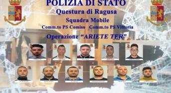 """Vittoria e Comiso. Operazione """"Ariete Ter"""": Arrestati altri 5 componenti della banda delle """"spaccate"""""""