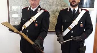 Detenzione abusiva di armi, munizioni e droga: In manette monrealese