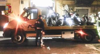 """Messina. """"Quartieri Sicuri"""": La Polizia di Stato sequestra oltre 600 chili di prodotti ortofrutticoli e diversi motocicli"""