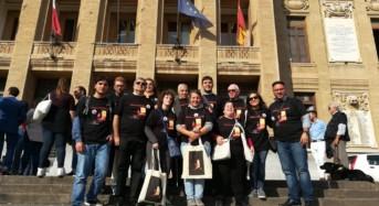 Delegazione UICI di Ragusa a Messina per celebrare la XXIII^ Giornata Nazionale del cane guida