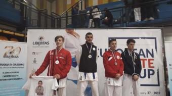 Acate, Bassam Salem della ASD Dragon Sport School è campione europeo della European Karate Cup