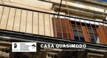 La Casa Natale di Salvatore Quasimodo entra a far parte delle Case della Memoria