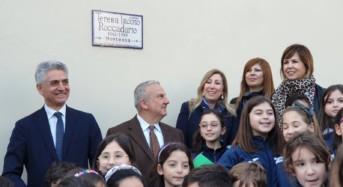 Dedicata a Teresa Iacono Roccadario la storica scalinata di via Dei Mille a Vittoria.