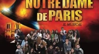 """Acate.  L'Associazione Progetto Teatro Giovani apre i festeggiamenti in onore di San Vincenzo Martire con il musical """"Notre Dame de Paris"""" per la regia di Luigi Denaro."""