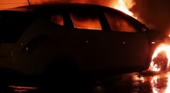"""Acate. Data alle fiamme nella notte l'autovettura del """"Paladino dell'ambiente"""" Riccardo Zingaro. Acate scenderà in piazza o, resterà indifferente ?"""