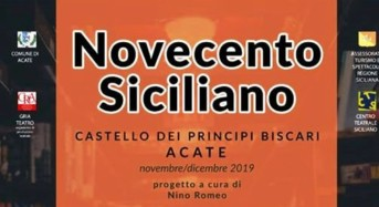 """Acate. Novecento Siciliano: """"La Lupa e dintorni"""" di Giovanni Verga, questa sera al Castello."""