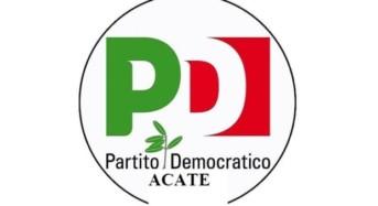 """Acate. Partito Democratico: """"Prima gli interessi degli italiani"""". Riceviamo e pubblichiamo."""
