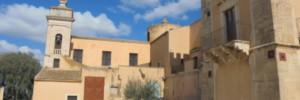 Acate. Le due collocazioni del campanile della Chiesa di San Vincenzo.